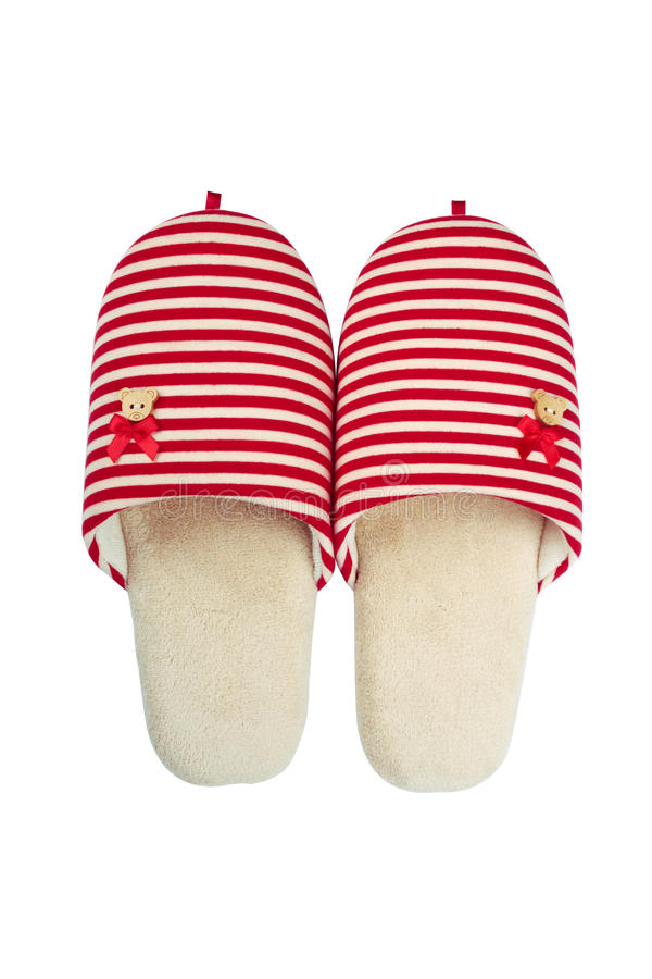 Free Slippers Isolated Royalty Free Stock Images - 37805689