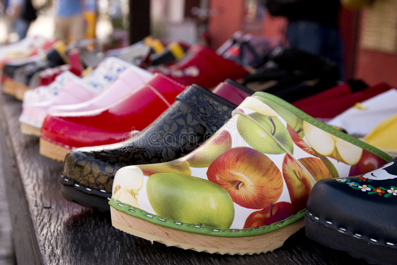 Slippers, sweden stock image