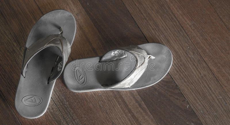 Slippers - Flip Flops royalty free stock photography