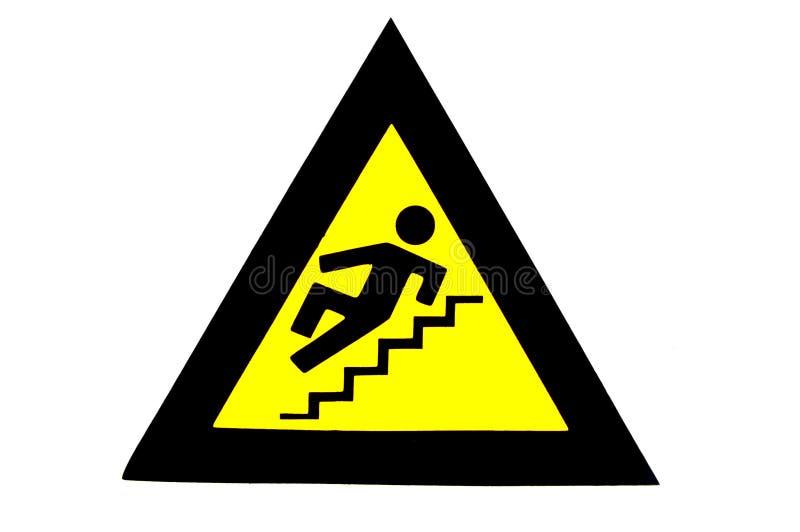 Slippery Steps. royalty free stock photography