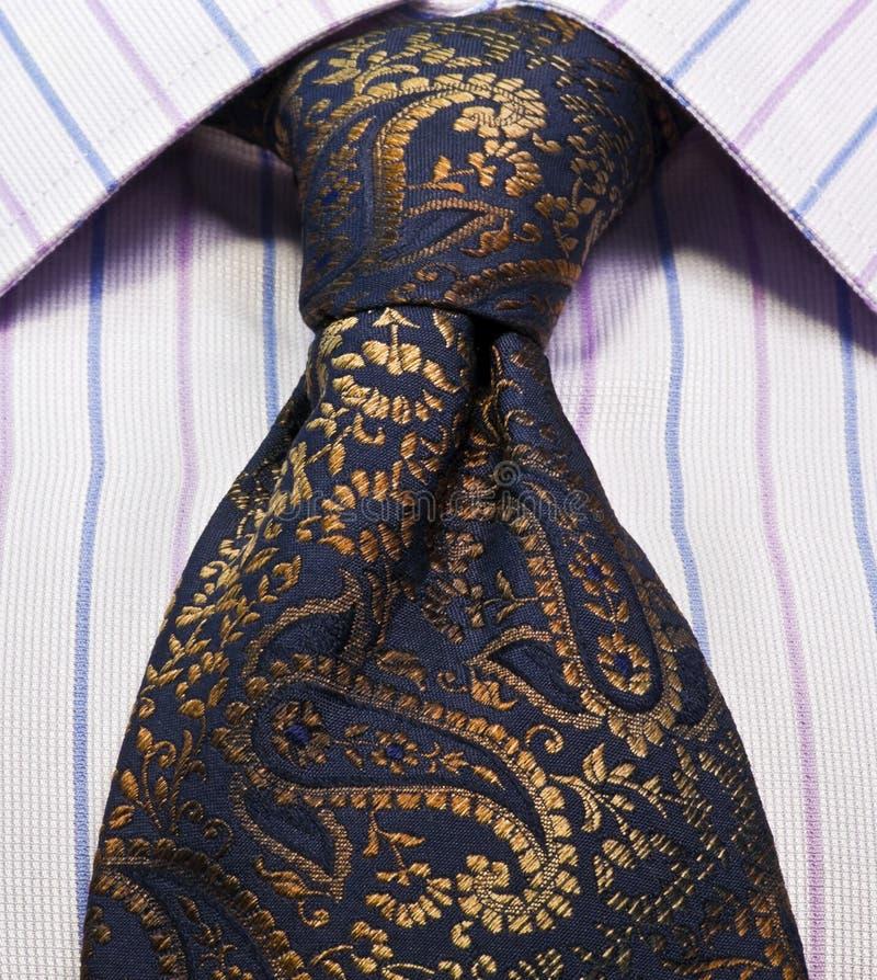 slipsskjorta arkivfoto
