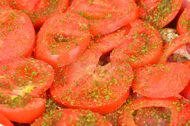 Download Slised pomidor, zamyka up zdjęcie stock. Obraz złożonej z jujitsu - 57668466