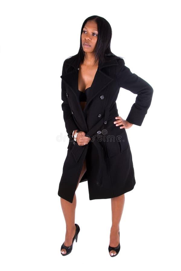 slitage kvinna för svart lag arkivfoton