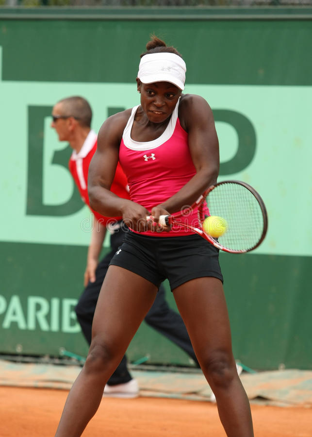 Sloane Stephens (USA) At Roland Garros 2011 Editorial Stock Image