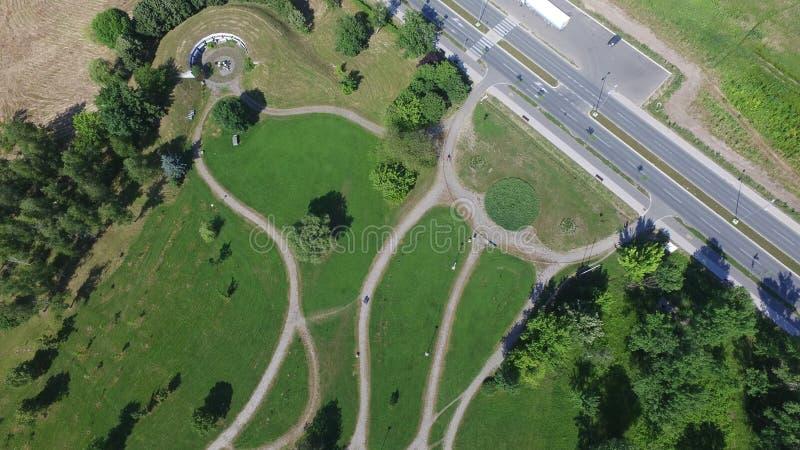 Slobodište, Krusevac - Serbia. Slobodište, Kruševac - Serbia, aerial view royalty free stock photography