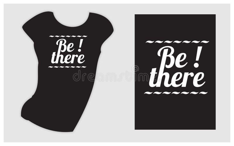 Slogan på den svarta t-skjortan för kläder planlägger Svart friday bakgrund vektor illustrationer