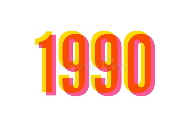 Slogan 1990 Phrase Graphic Vector Print Fashion Lettering Stock ...