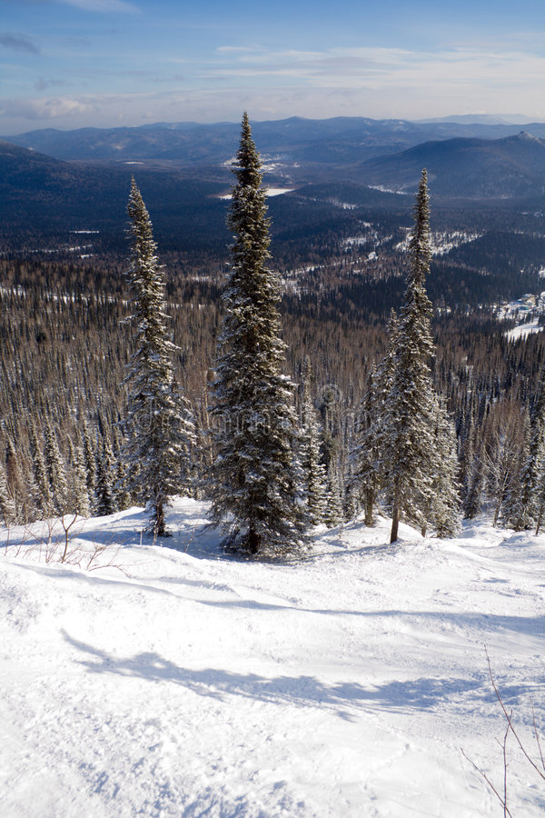 Download Slope For Freeride Skiing And Snowboarding Royalty Free Stock Photos - Image: 4351478