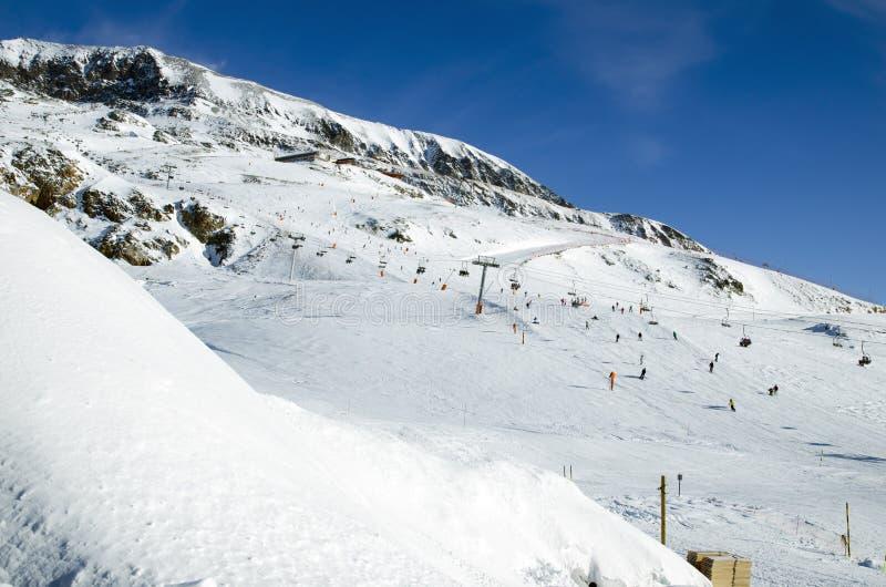 Slopes in Alpe d Huez. France