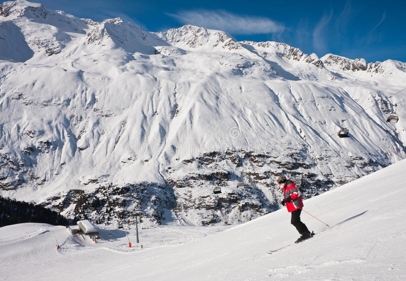 Download On The Slopes Of Obergurgl. Austria Stock Image - Image: 22070791