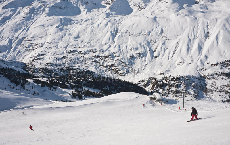 Download On The Slopes Of Obergurgl. Austria Royalty Free Stock Images - Image: 22070819