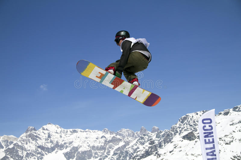 Slopestyle stock images