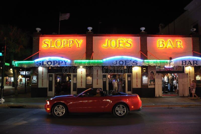 Sloppy Joes Bar in Key West stock photos