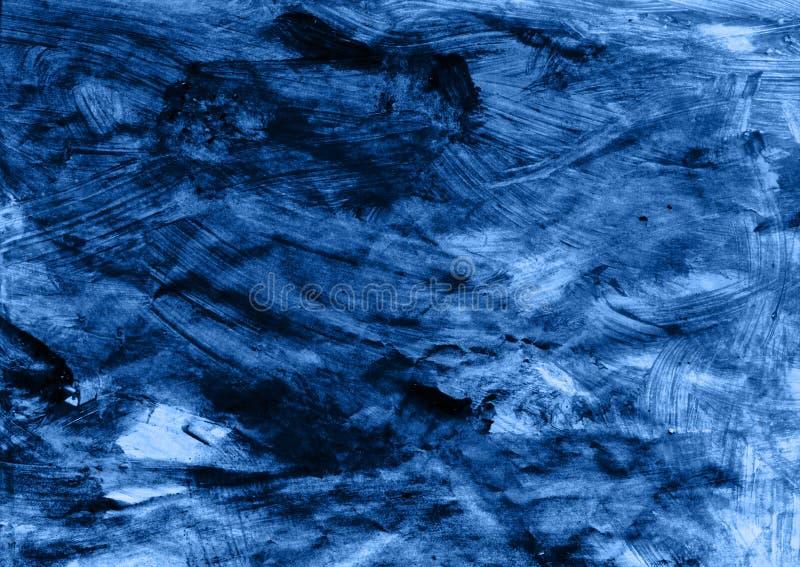 Slordige geschilderde textuur stock illustratie