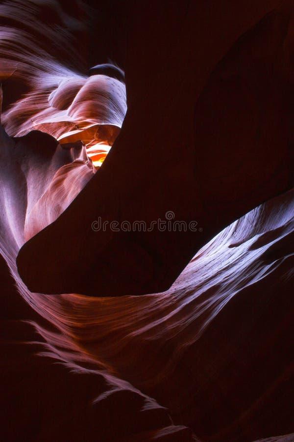 Slot canyons of southwest stock photos
