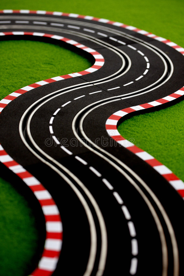 Slot Car 3 royalty free stock photos