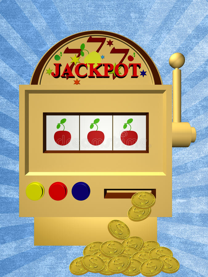 Download A Slot Fruit Machine Stock Image - Image: 23960791