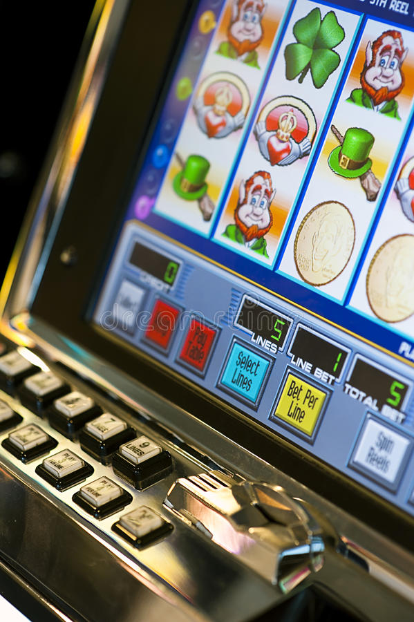 Download Slot Machine editorial photo. Image of game, happy, help - 14953601