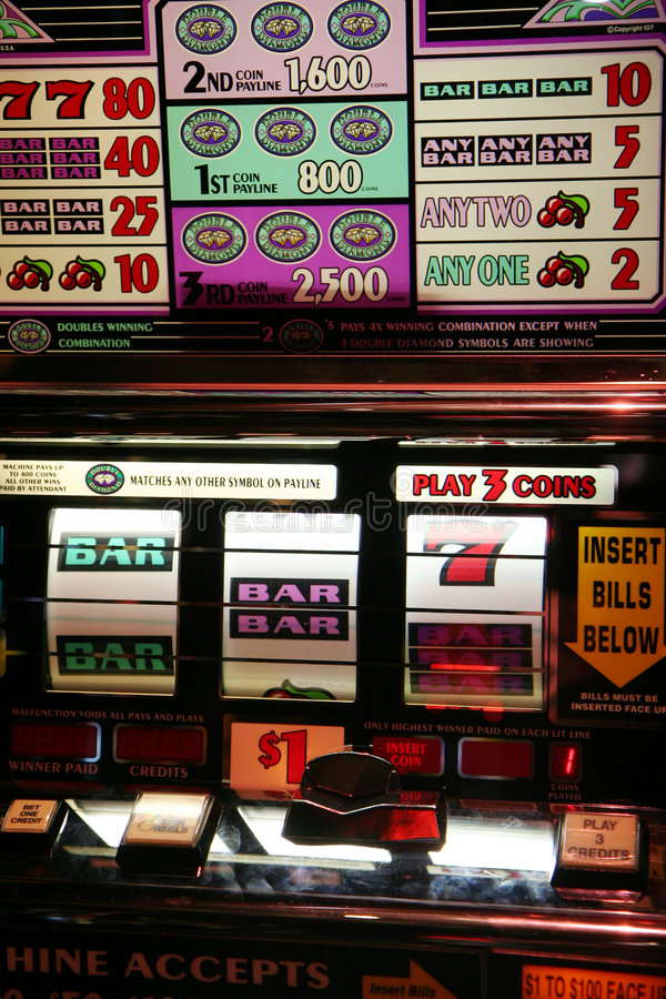 Download Slot Machine editorial photo. Image of gambling, slots - 1845686