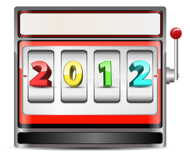 Download Slot machine stock vector. Image of annual, finance, golden - 20956748