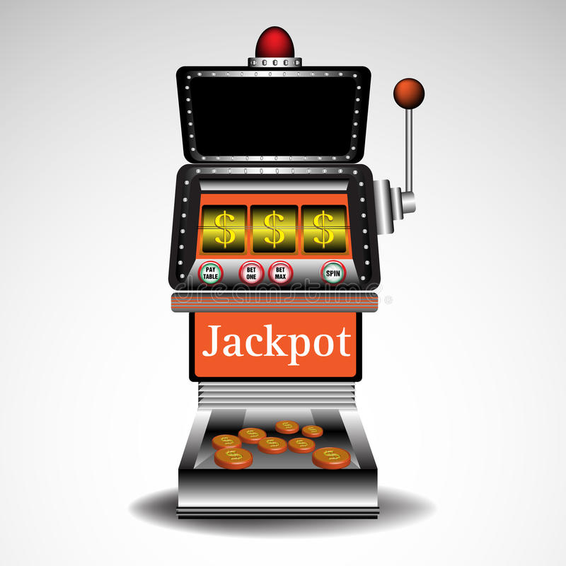 Slot Machine Royalty Free Stock Photography