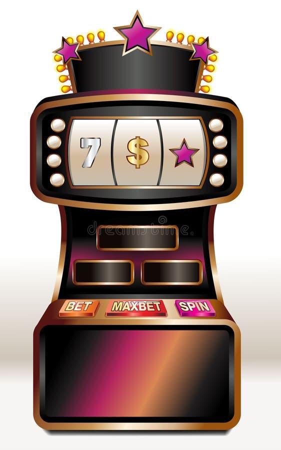 Slot machine ilustração stock