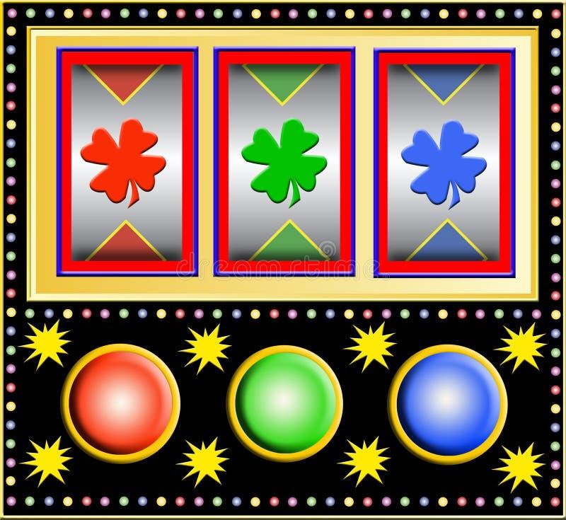 Download Slot machine stock illustration. Image of advertising - 4450410