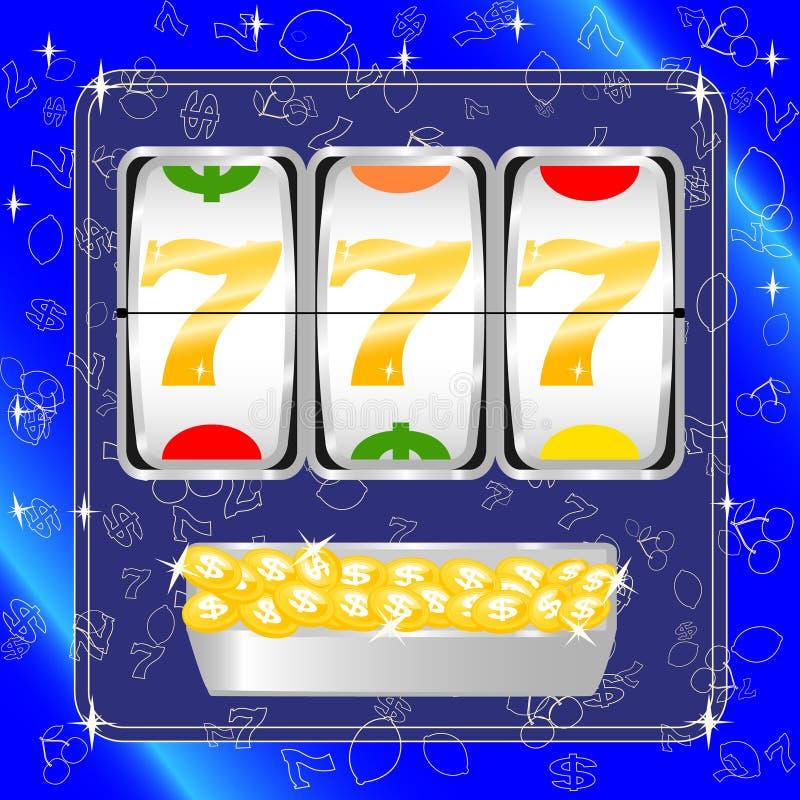 Slot machine royalty illustrazione gratis