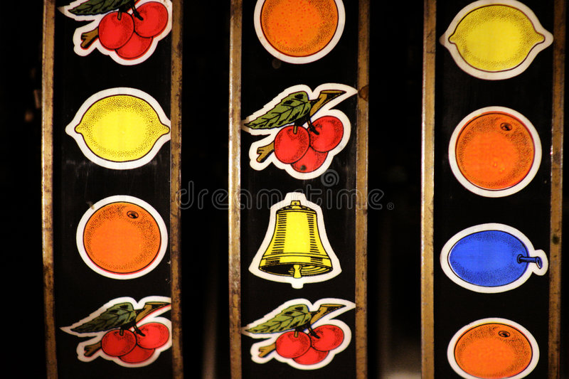 Slot machine stock photography