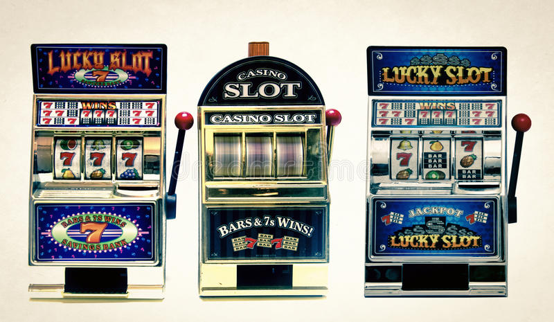 Slot machine fotografie stock