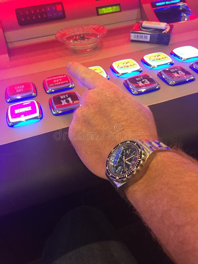 Slot machine de Las Vegas fotos de stock royalty free