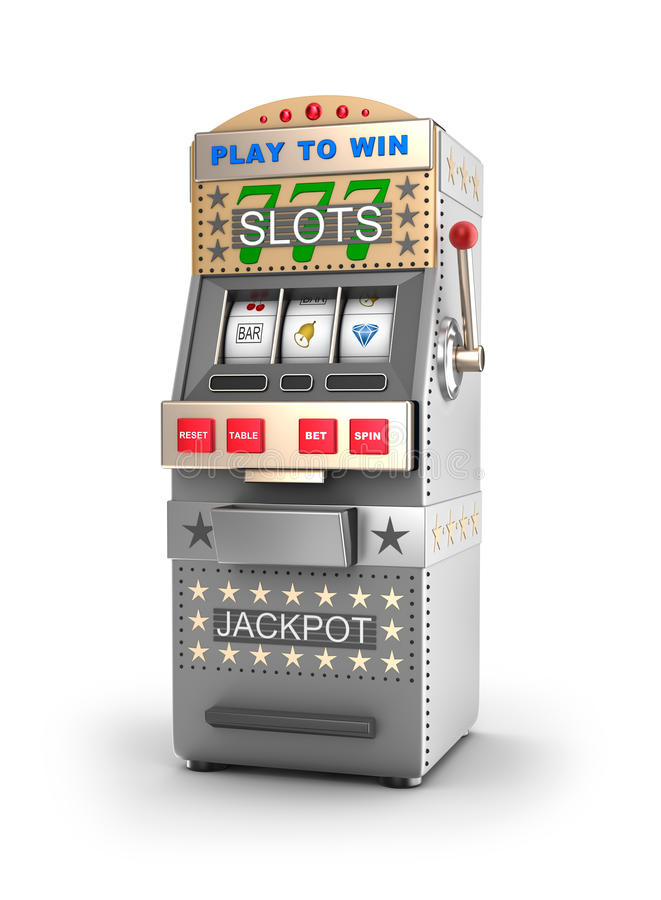 A Slot Machine, Gamble Machine. Royalty Free Stock Photos - Image: 28715358 A slot machine, gamble machine. - 웹