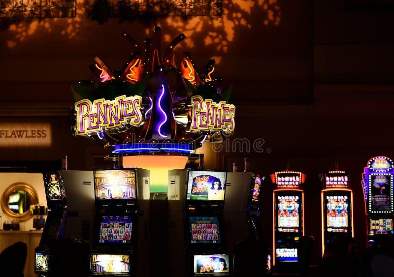 Slot machine Las Vegas foto de stock