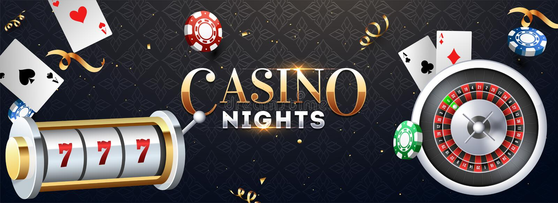 Slot machine realístico com roda de roleta, microplaquetas do casino e ilustração dos cartões de jogo no fundo abstrato ilustração royalty free