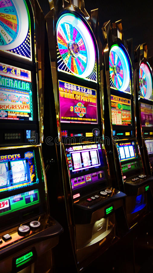 Download Slot Machines editorial stock photo. Image of colors - 30782743