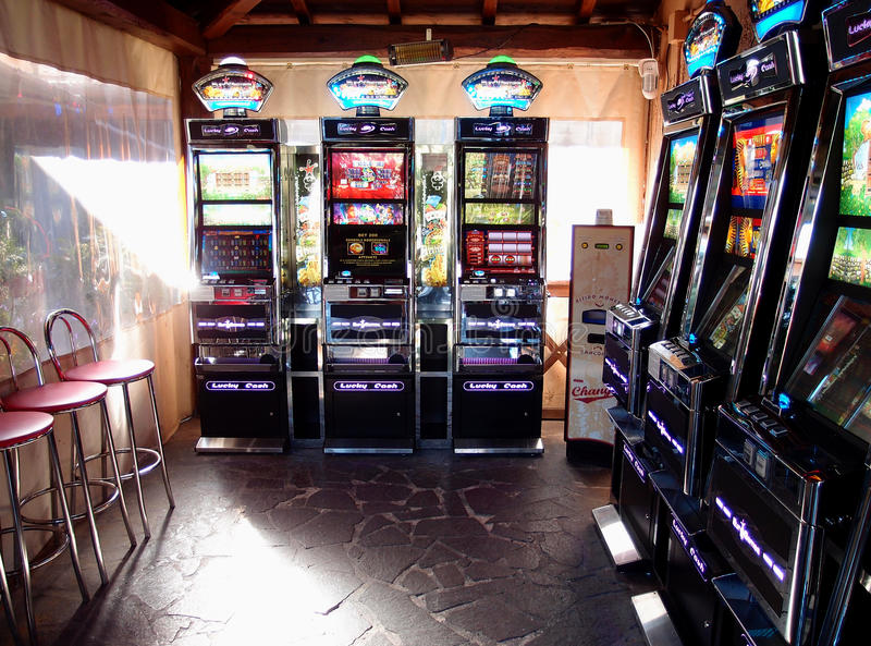 Download Slot Machines Room Editorial Photo - Image: 34496971