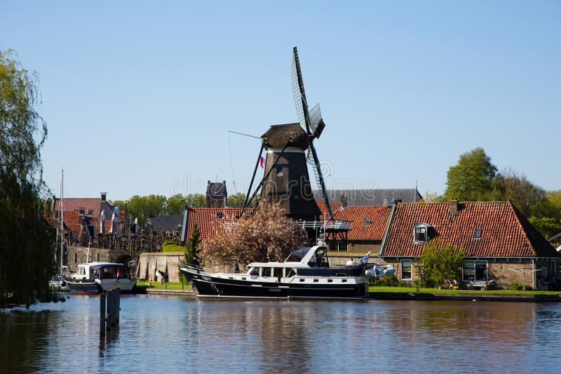 Sloten in den Niederlanden lizenzfreie stockfotos