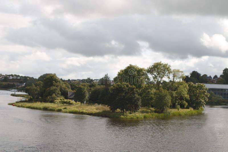 Slottö, Enniskillen Co Fermanagh som är nordlig - Irland fotografering för bildbyråer