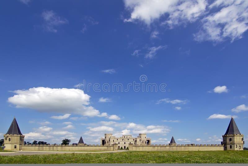 slott arkivbild