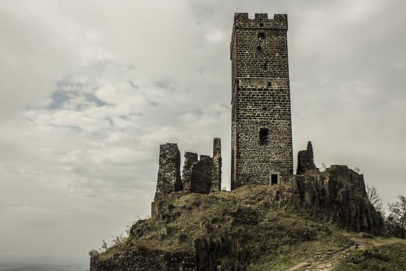 Slott royaltyfria bilder