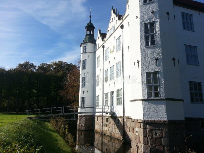 Slott av Ahrensburg royaltyfri fotografi