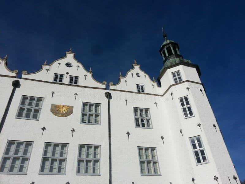 Slott av Ahrensburg arkivbild