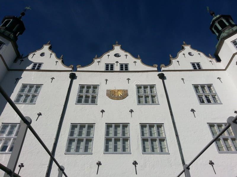 Slott av Ahrensburg arkivfoto