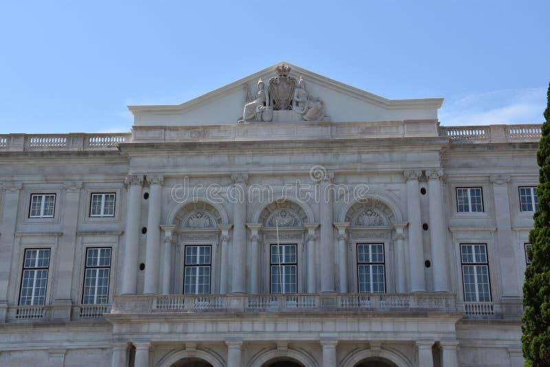 Download Slott Av Ajuda I Lissabon, Portugal Arkivfoto - Bild av stort, slott: 76700416