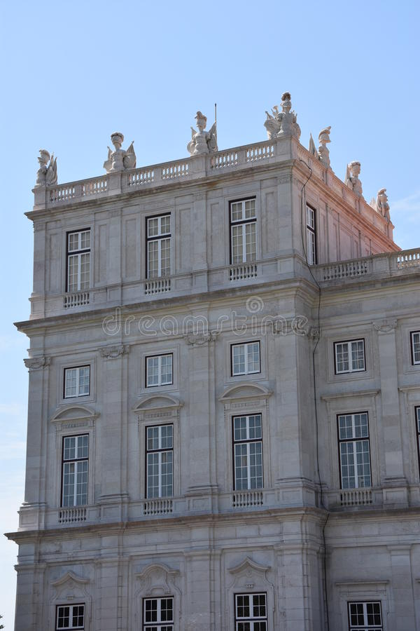 Download Slott Av Ajuda I Lissabon, Portugal Fotografering för Bildbyråer - Bild av stort, europa: 76700455