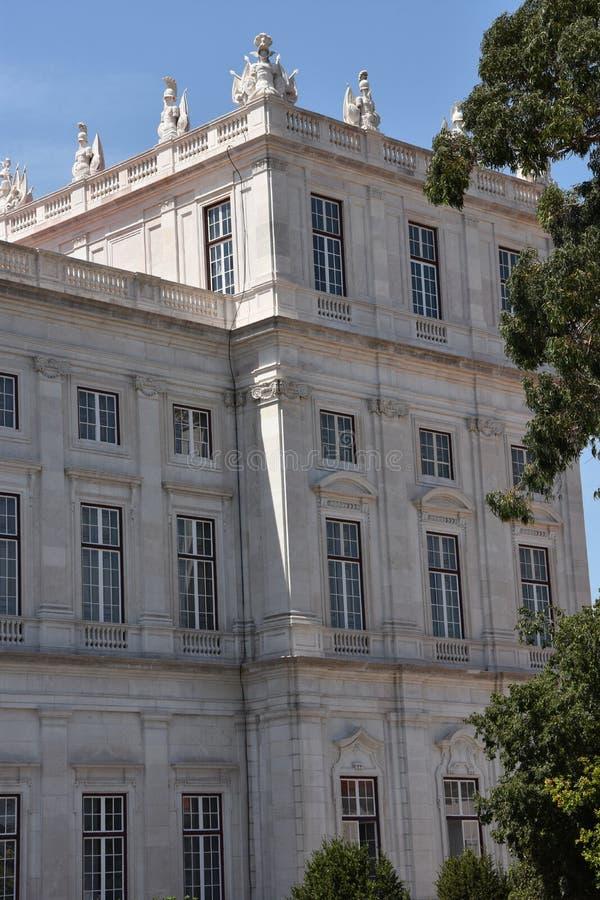 Download Slott Av Ajuda I Lissabon, Portugal Fotografering för Bildbyråer - Bild av museum, nationellt: 76700595