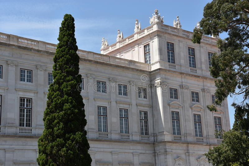 Download Slott Av Ajuda I Lissabon, Portugal Arkivfoto - Bild av antikviteten, museum: 76700754