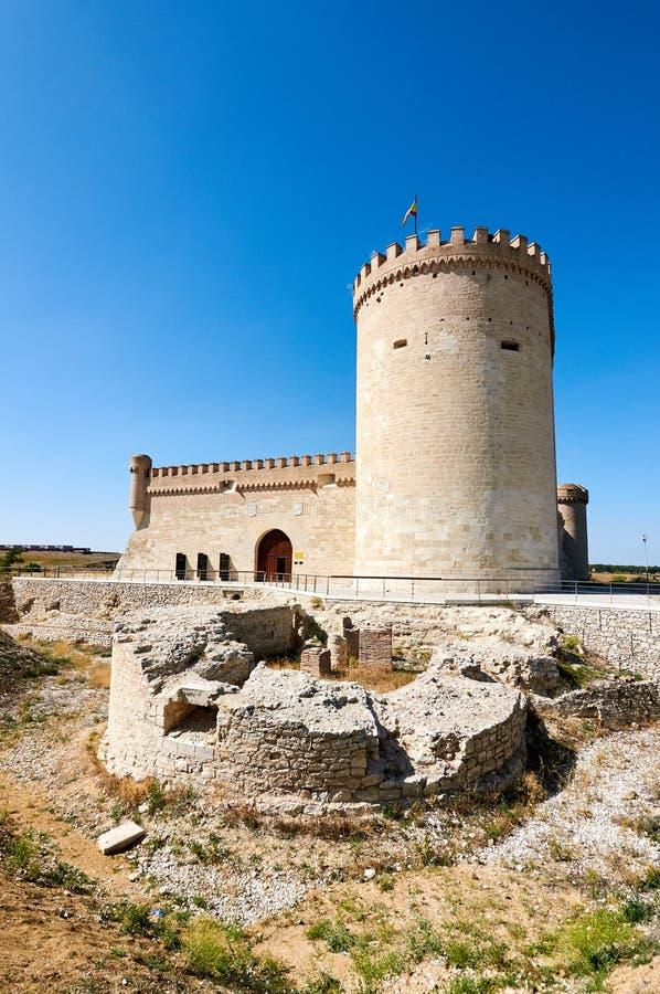 Slott av Arevalo Avila, Spanien royaltyfri foto