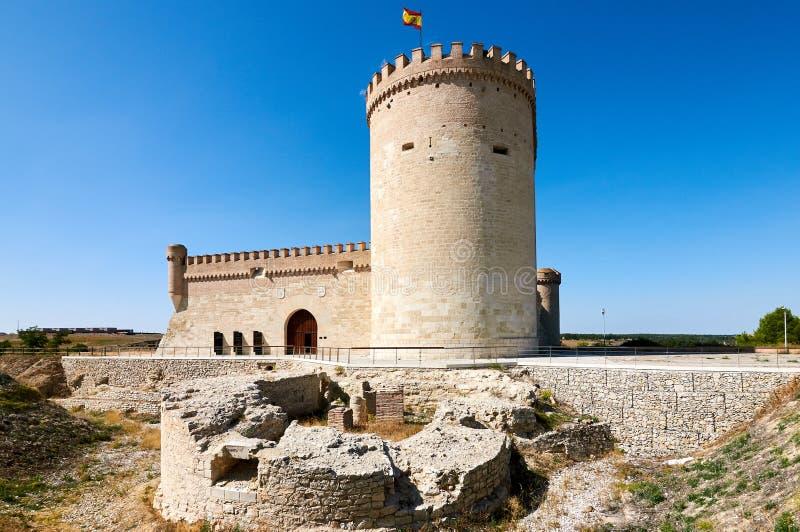 Slott av Arevalo Avila, Spanien arkivfoto