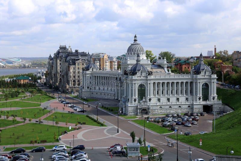 Slott av bönder (departement av miljön och jordbruk) i Kazan royaltyfri foto